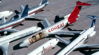 N8880Z - Boeing 727-225(Adv)(F) - Cougar Cargo