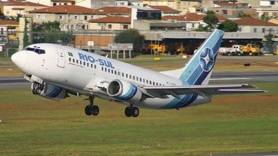 PT-SSF - Boeing 737-5Q8 - Rio-Sul