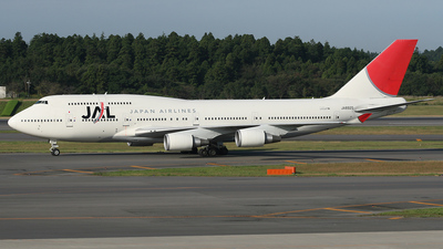 JA8920 - Boeing 747-446 - Japan Airlines (JAL)