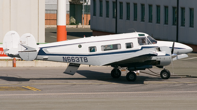 N663TB - Beech H18 - Private