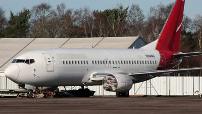 A picture of N294AG - Boeing 737376 - [24296] - © James Ralph