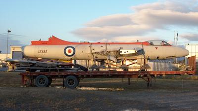 N587XE - Hawker Hunter - Private