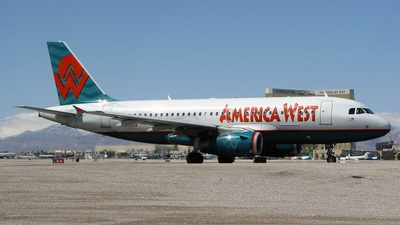 N828AW - Airbus A319-132 - America West Airlines