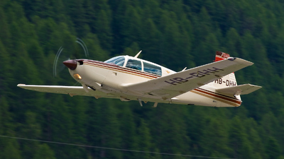 A picture of HBDHH - Mooney M20K - [250554] - © Danijel Jovanovic - AirTeamImages