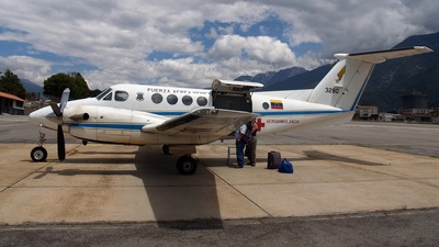 3280 - Beechcraft 200C Super King Air - Venezuela - Air Force