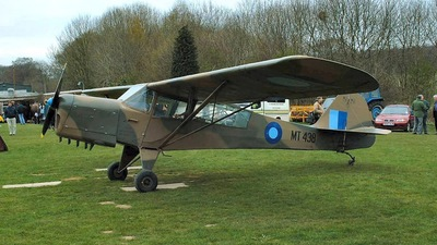 G-AREI - Taylorcraft Auster 3 - Private