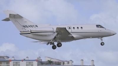 N848CW - Raytheon Hawker 800XP - Private
