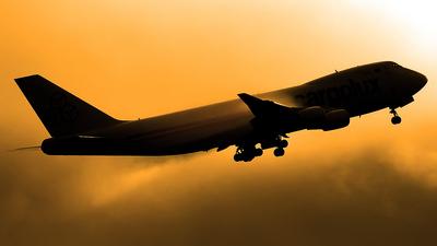 LX-KCV - Boeing 747-4R7F(SCD) - Cargolux Airlines International