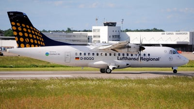 D-BQQQ - ATR 42-500 - Lufthansa Regional (Contact Air)
