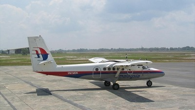 9M-MDK - De Havilland Canada DHC-6-300 Twin Otter - Malaysia Airlines