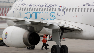 SU-LBH - Airbus A320-233 - Lotus Air