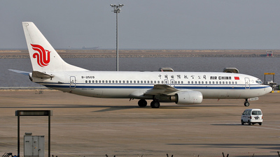 B-2509 - Boeing 737-8Z0 - Air China
