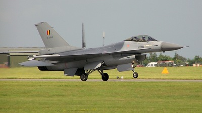 FA-114 - General Dynamics F-16AM Fighting Falcon - Belgium - Air Force
