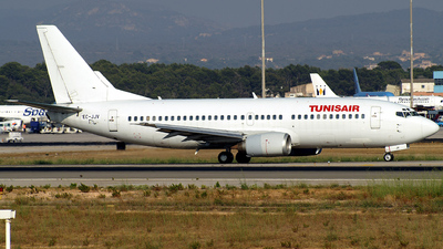 EC-JJV - Boeing 737-33A - Tunisair (Futura International Airways)