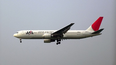 JA604J - Boeing 767-346(ER) - Japan Airlines (JAL)