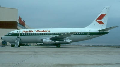 C-FPWD - Boeing 737-2T7(Adv) - Pacific Western Airlines
