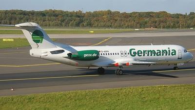 D-AGPA - Fokker 100 - Germania