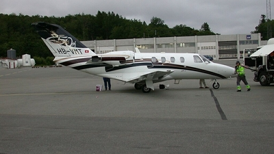 HB-VMT - Cessna 525 CitationJet 1 - Sky Work
