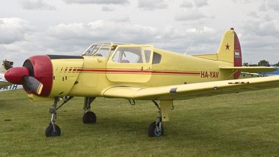 HA-YAV - Yakovlev Yak-18T - Private