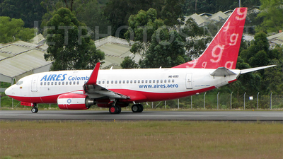 HK-4695 - Boeing 737-7Q8 - Aires Colombia