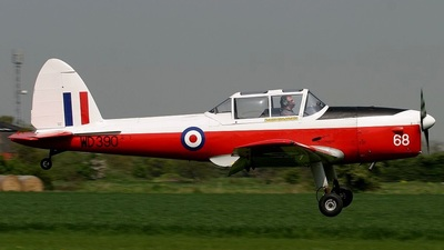 WD390 - De Havilland Canada DHC-1 Chipmunk - Private