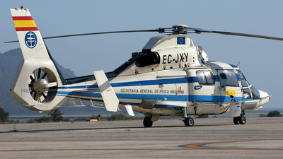 EC-JXY - Aérospatiale SA 365N3 Dauphin 2 - Spain - Ministry of Agriculture