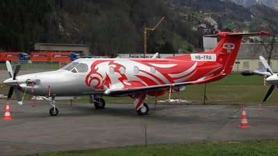 HB-FRA - Pilatus PC-12/47 - Private