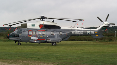716 - Aérospatiale AS 332M1 Super Puma - Saudi Arabia - Navy