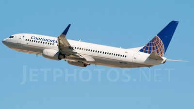 N78509 - Boeing 737-824 - Continental Airlines