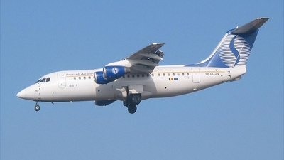 OO-DJN - British Aerospace Avro RJ85 - SN Brussels Airlines