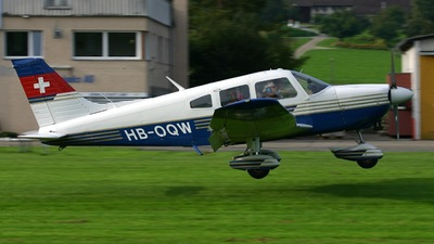 A picture of HBOQW - Piper PA28181 - [287690049] - © Karl Haller