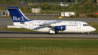 OH-SAK - British Aerospace Avro RJ85 - Blue1