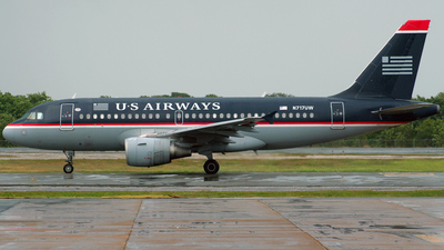 N717UW - Airbus A319-112 - US Airways