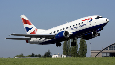 G-GFFH - Boeing 737-5H6 - British Airways