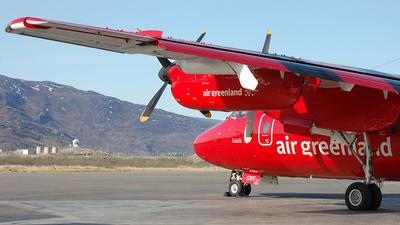 OY-GRF - De Havilland Canada DHC-7-103 Dash 7 - Air Greenland