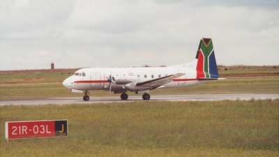 ZS-XGY - Hawker Siddeley HS-748 Series 2A - Care Airlines