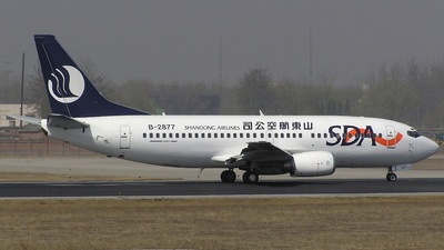B-2877 - Boeing 737-33V - Shandong Airlines