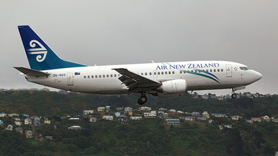 ZK-NGO - Boeing 737-37Q - Air New Zealand