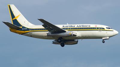 PK-KAO - Boeing 737-284(Adv) - Kartika Airlines