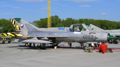 4003 - Mikoyan-Gurevich MiG-21MF Fishbed J - Czech Republic - Air Force