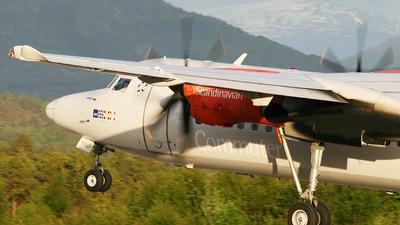 LN-RND - Fokker 50 - Scandinavian Commuter (SAS)