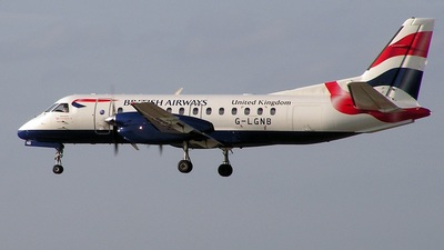 G-LGNB - Saab 340B - British Airways (Loganair)