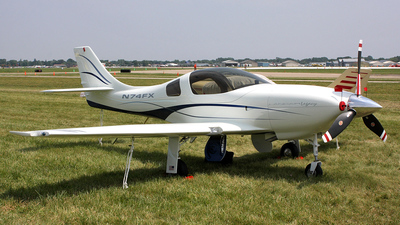 A picture of N74FX - Amateur Lancair Legacy 2000 - [L2K283] - © Connector