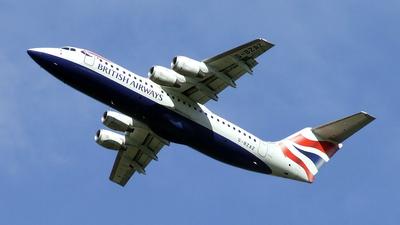 G-BZAZ - British Aerospace Avro RJ100 - British Airways (CityFlyer Express)