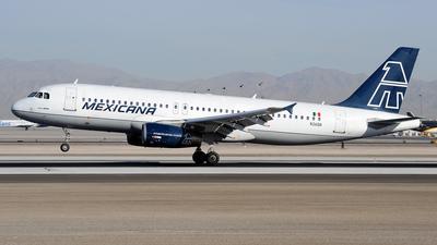 N361DA - Airbus A320-231 - Mexicana