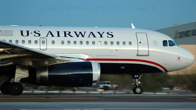 N819AW - Airbus A319-132 - US Airways (America West Airlines)