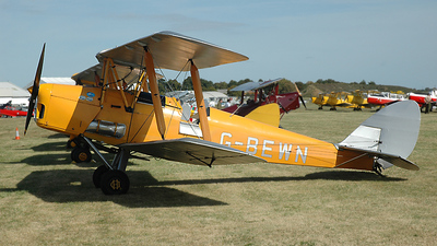 A picture of GBEWN - De Havilland DH82 Tiger Moth - [T305] - © Michael Blank
