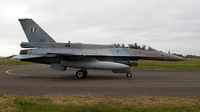 021 - Lockheed Martin F-16CJ Fighting Falcon - Greece - Air Force