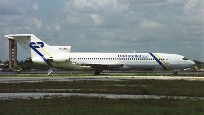 OO-CAH - Boeing 727-2X3(Adv) - Constellation International Airlines