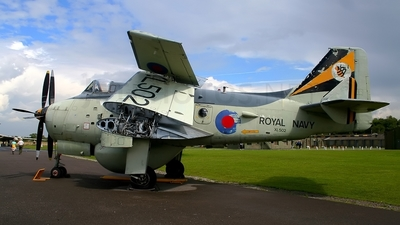 XL502 - Fairey Gannet AEW.3 - United Kingdom - Royal Navy